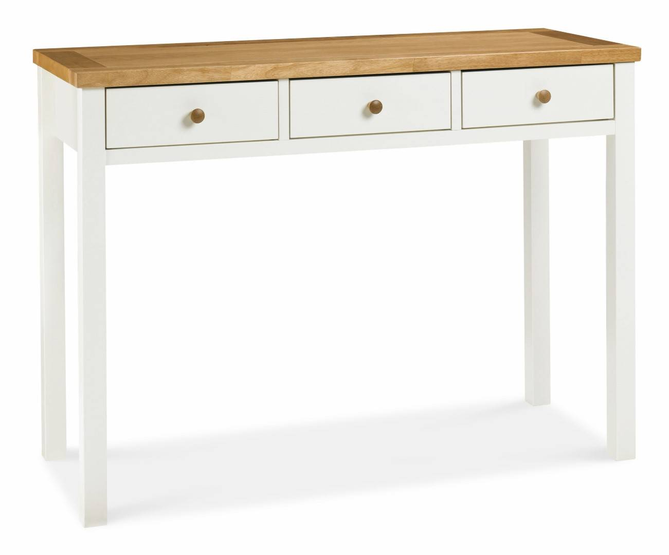 Chester two tone dressing table bedroom furniture for 90cm dressing table
