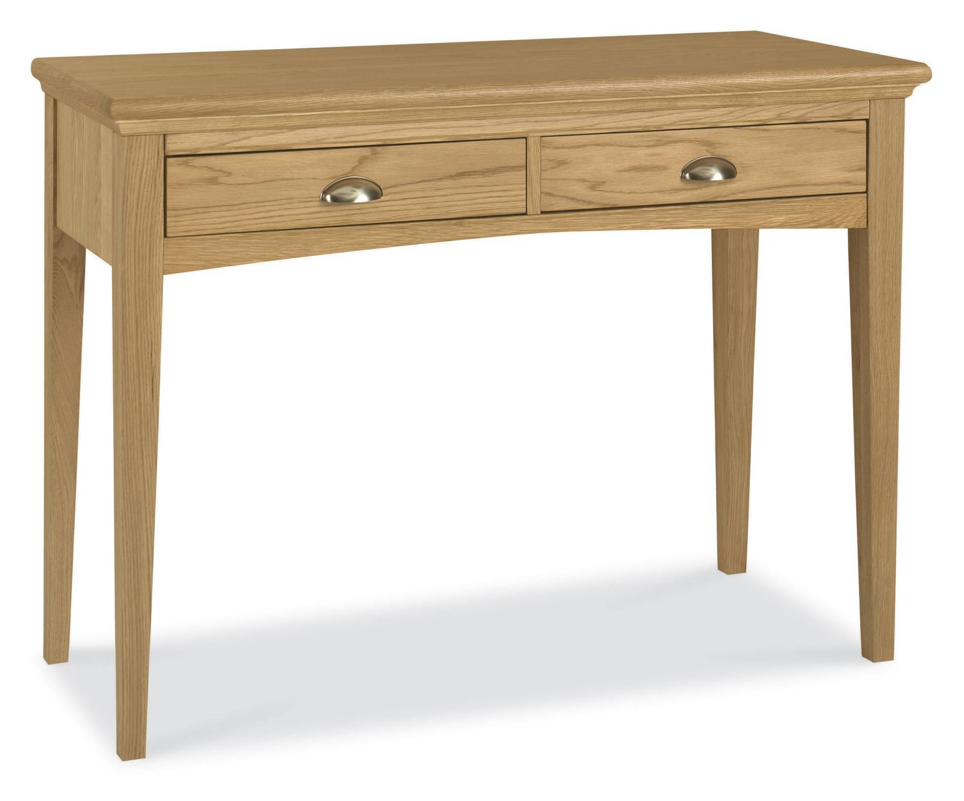 Fairford oak dressing table bedroom furniture hills for 90cm dressing table
