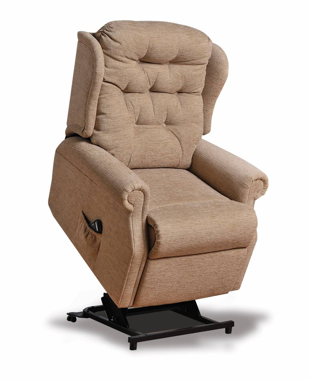 Fine Woburn Standard Dual Motor Lift Recliner Fabric Theyellowbook Wood Chair Design Ideas Theyellowbookinfo