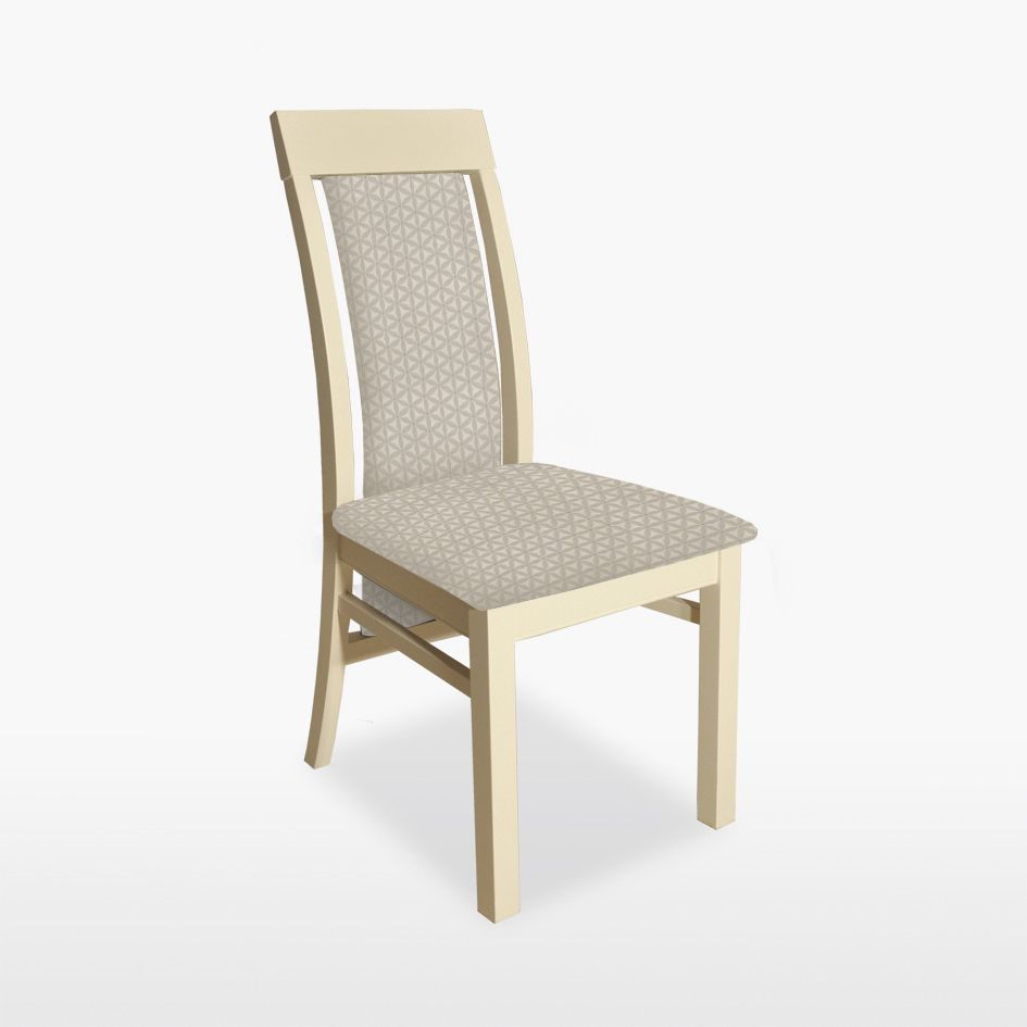 Coelo Lucca Upholstered Back Chair Leather Hills Furniture Store