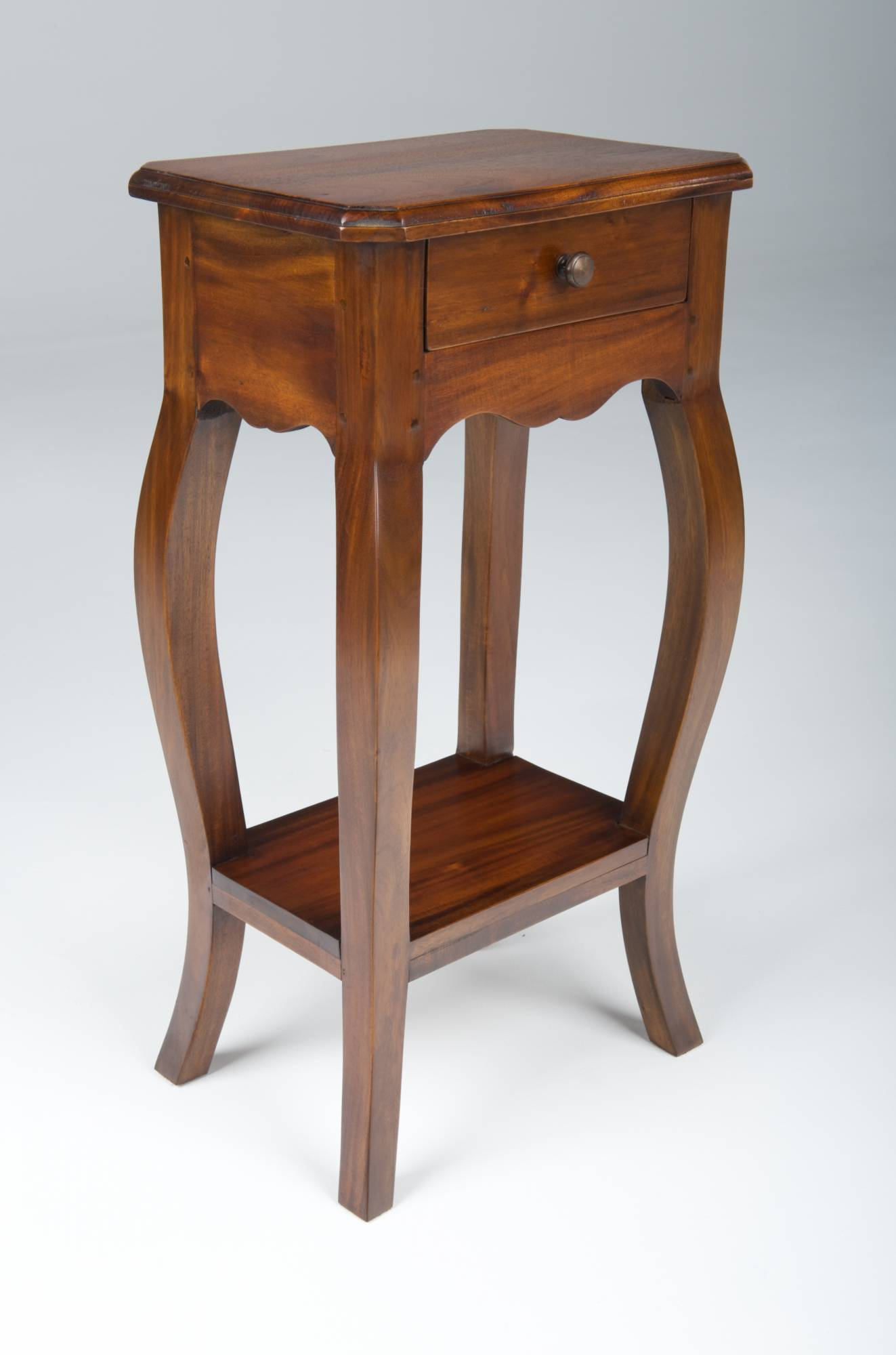 Small wooden telephone table traditional furniture