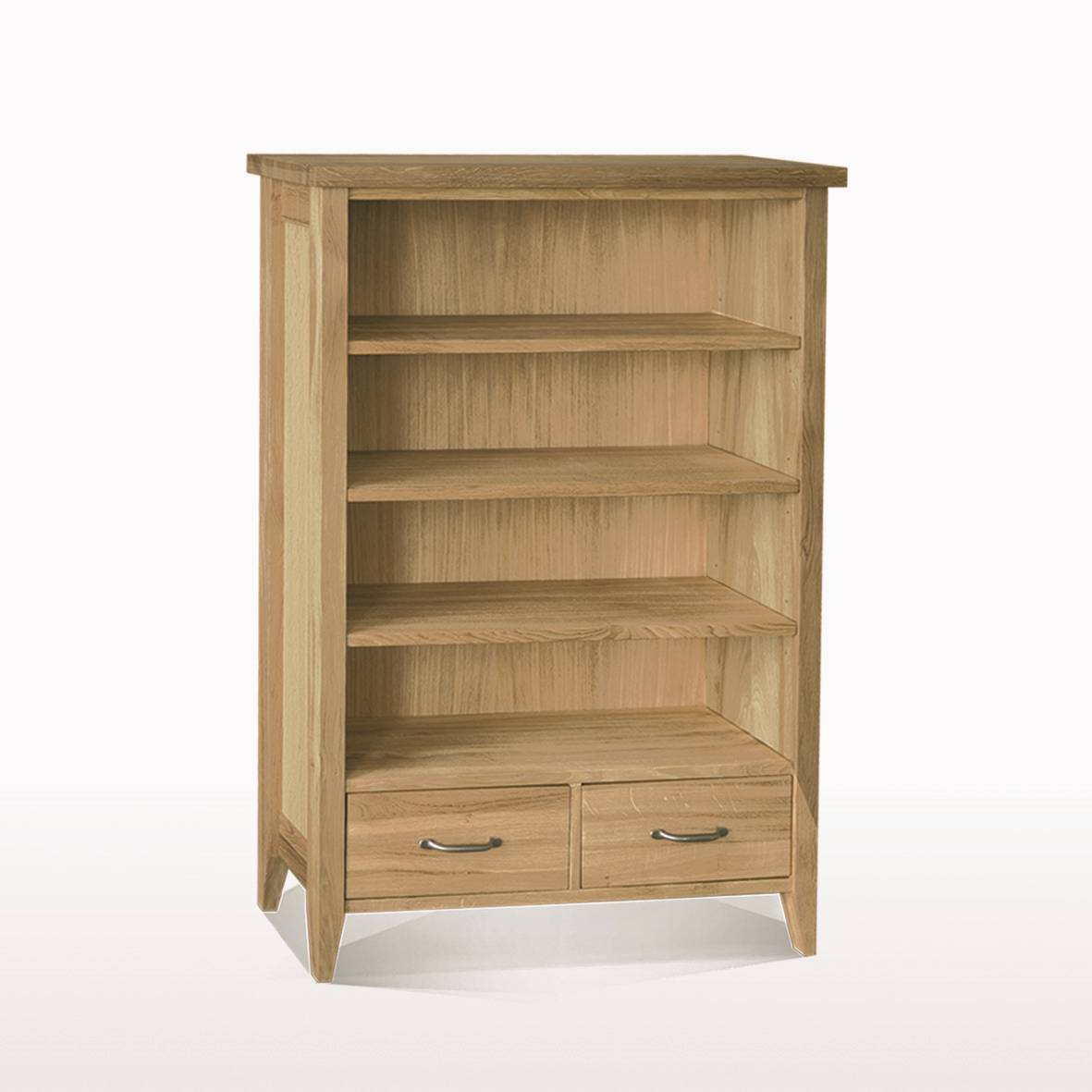 Windsor Dining Bookcase 2 Drawers (W95xD28xH120)