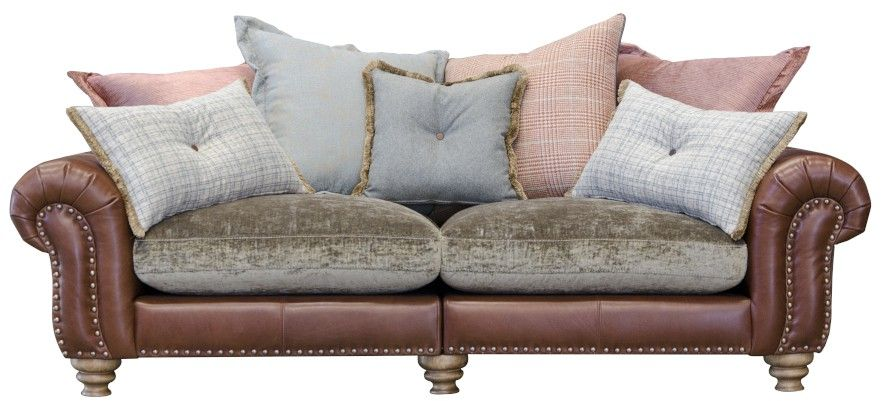 Bloomsbury - Large Split Sofa Pillowback Cushions