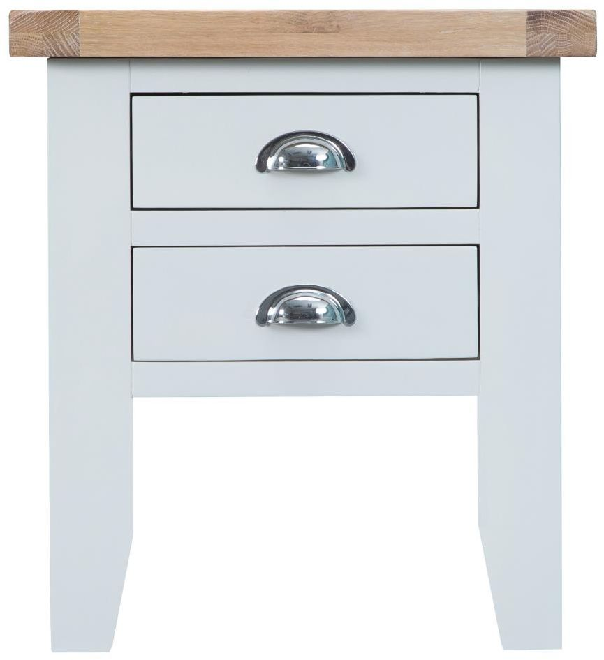 Padstow white lamp table side tables padstow white lamp table aloadofball Gallery
