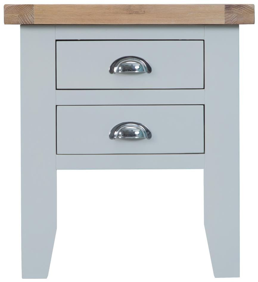 1cf4a74eb85a Padstow Grey Lamp Table - Side Tables