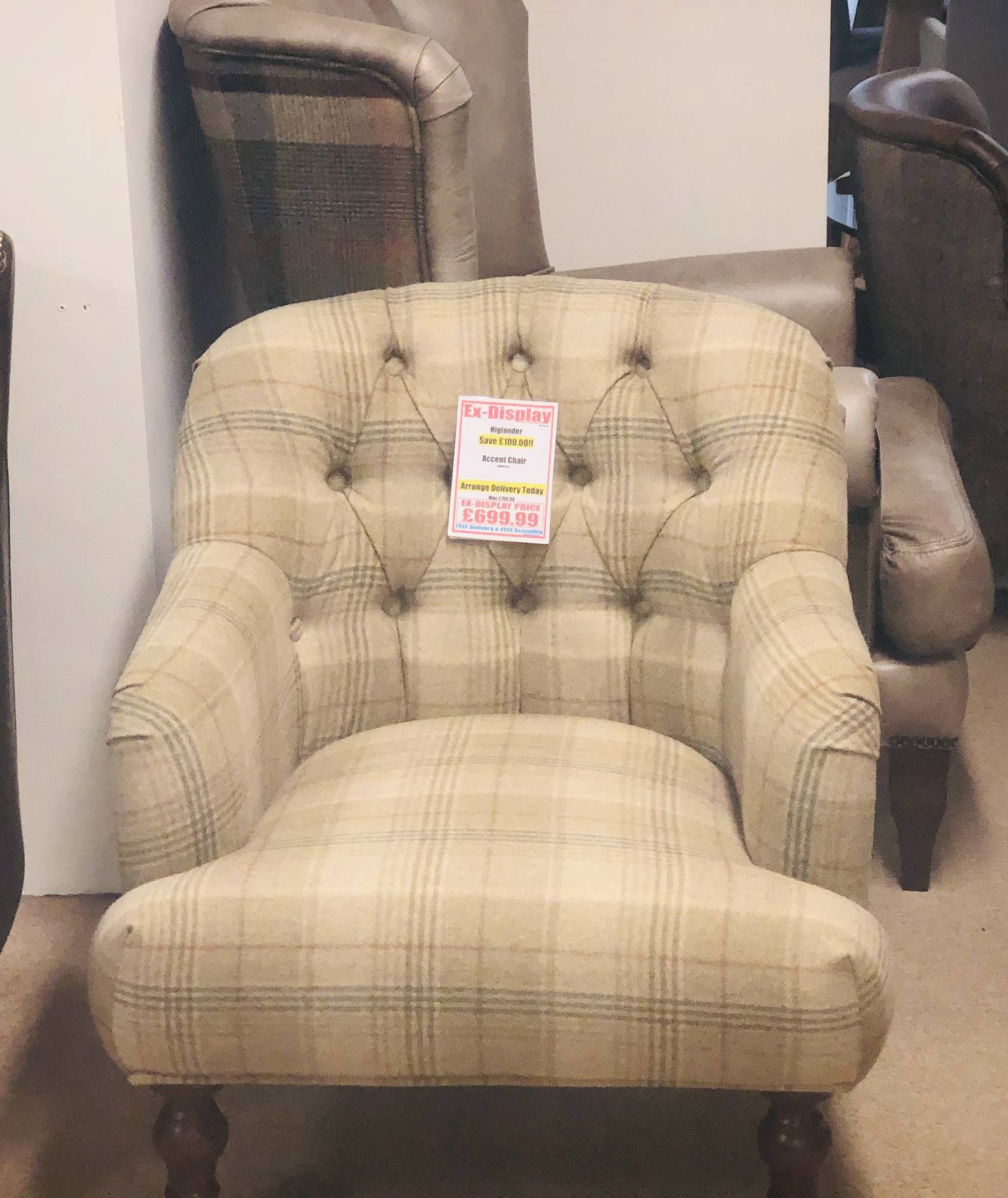 Picture of: Highlander Accent Chair Clearance