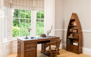 Reclaimed Home Office African Dusk