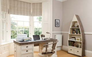 Reclaimed Home Office White Sundried