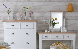 Padstow White Bedroom Collection