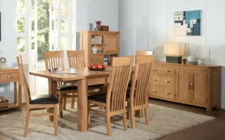 Suffolk Oak Dining Collection