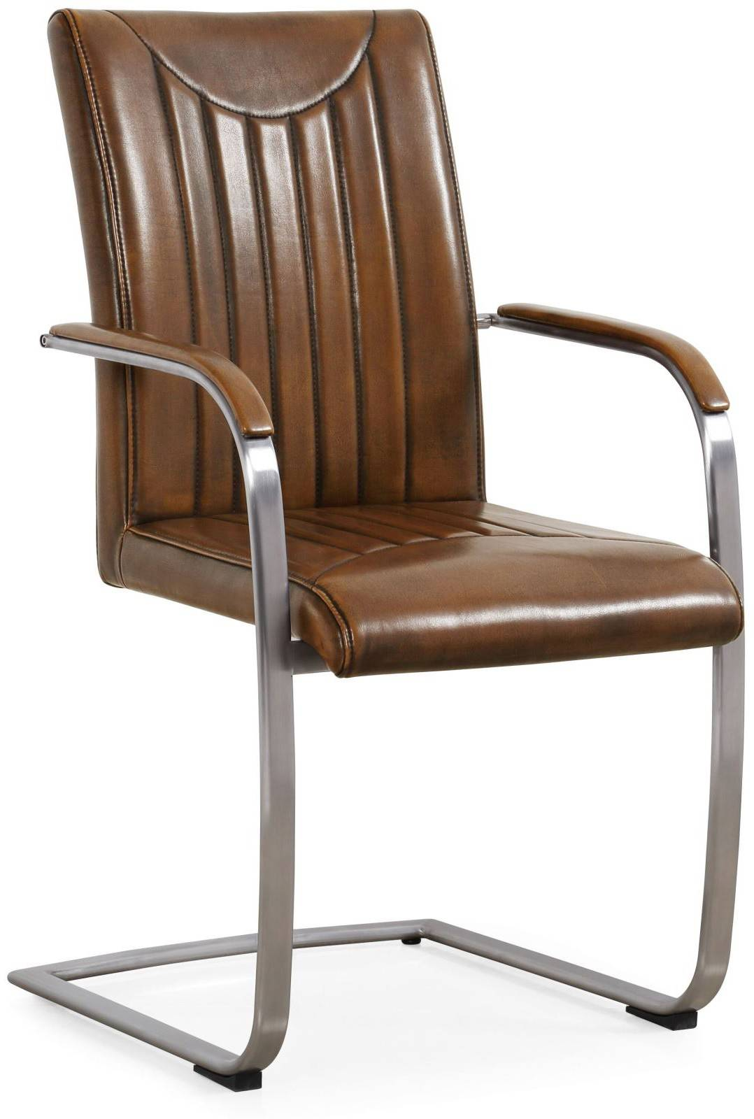 Urban Dining Chair With Arms Retro Stitch Dining Chairs