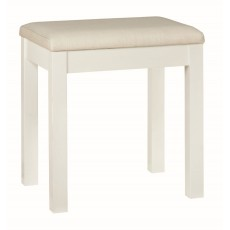 Chester White Dressing Stool