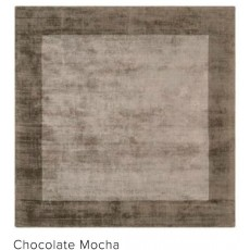 Blade Border 160x230cm Chocolate Mocha