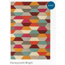 Funk 120x170cm Honeycombe Bright