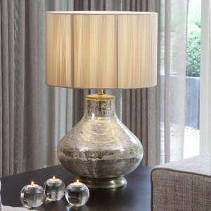 Hayworth Champagne Table Lamp