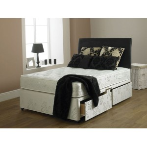 Hercules 1000 120cm 2+2 Drawer Divan Matching Base