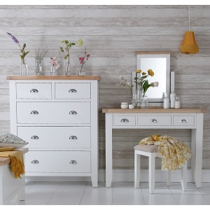 Padstow Stool WHITE