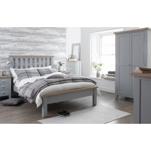 Padstow Stool GREY