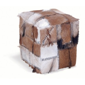 Stylebook Collection Patchwork Stool Box