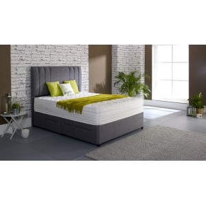 Gel Comfort 1800 Collection 120cm Platform Top Ottoman
