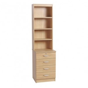 Home Office Collection Four Drawer Unit With OSC Hutc