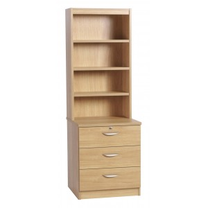 Home Office Collection Three Drawer CD/ DVD Storage C