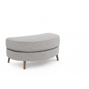 Lurano Sofa Collection Oval Cuddler Stool - Grade A Fabric