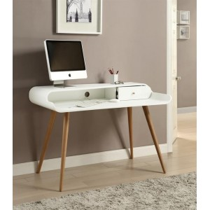 PC700 Home Office Collection - Tower Desk White Finish