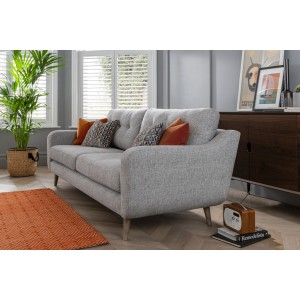 Lurano Sofa Collection Designer Small Bench Stool - Grade B Fabric