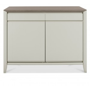 Revox Home Office Collection Narrow Sideboard Grey Washed Oak & Soft Grey