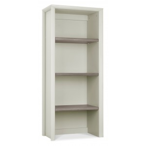 Revox Home Office Collection Narrow Top Unit Grey Washed Oak & Soft Grey