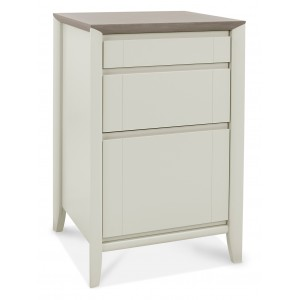 Revox Home Office Collection Filing Cabinets Grey Washed Oak & Soft Grey