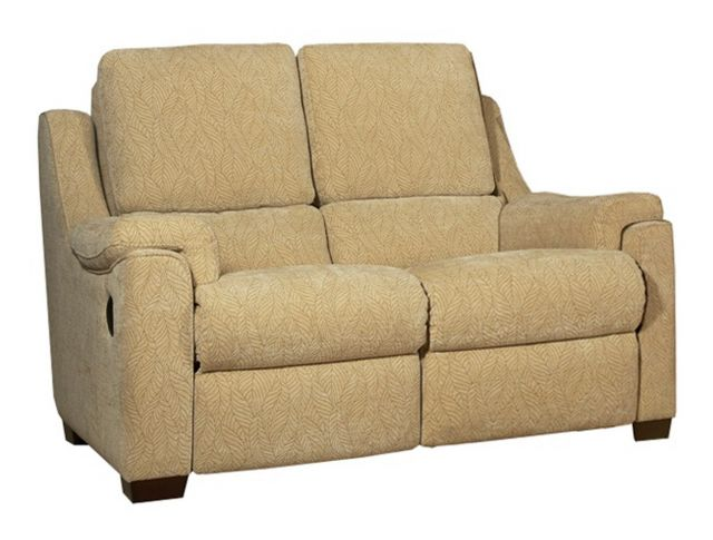 Parker Knoll - Albany 2 Seat Sofa Manual Recliner Fabric A Grade