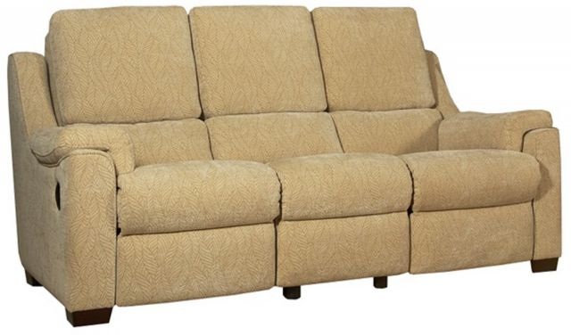 Parker Knoll - Albany 3 Seat Sofa Manual Recliner Fabric A Grade
