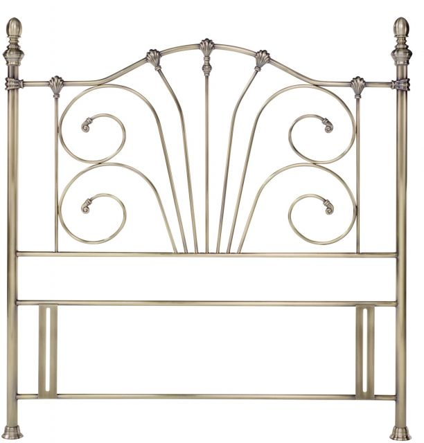 Rebecca 150Cm Antique Brass Headboard