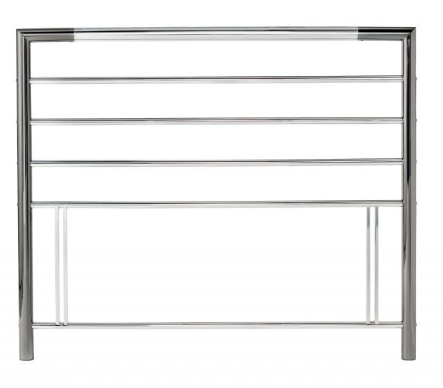 Urban 135Cm Nickel & Chrome Headboard