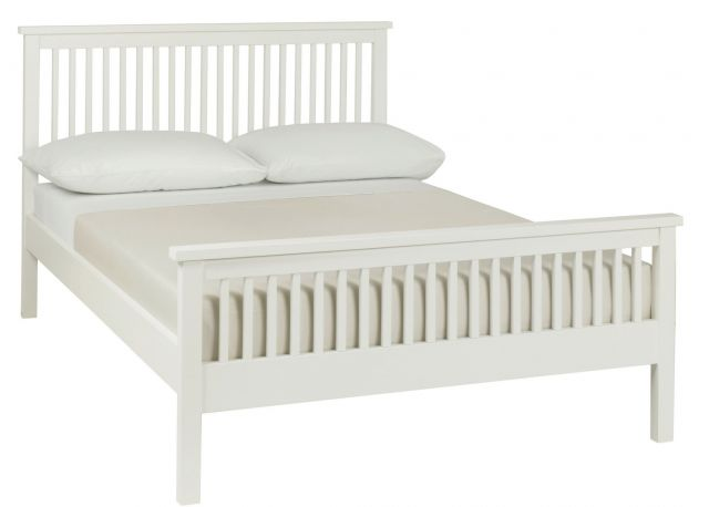 Chester White 135cm High Footend Bedstead