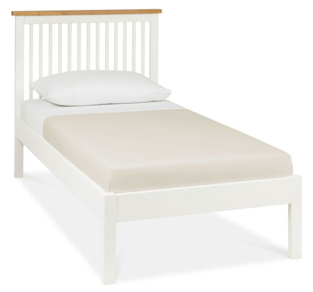 Chester Two Tone 90cm Low Footend Bedstead