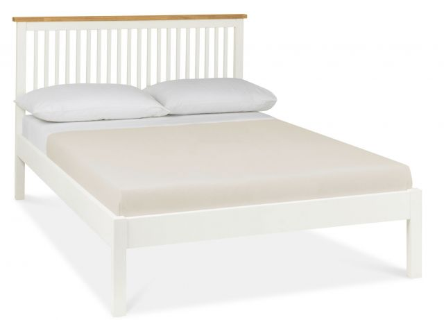 Chester Two Tone 135cm Low Footend Bedstead