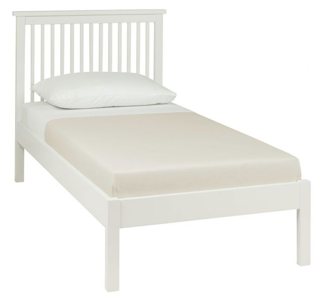Chester White 90cm Low Footend Bedstead