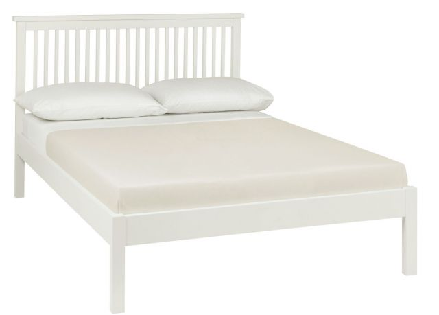 Chester White 135cm Low Footend Bedstead