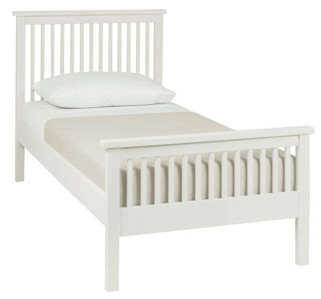 Chester White 90cm High Footend Bedstead