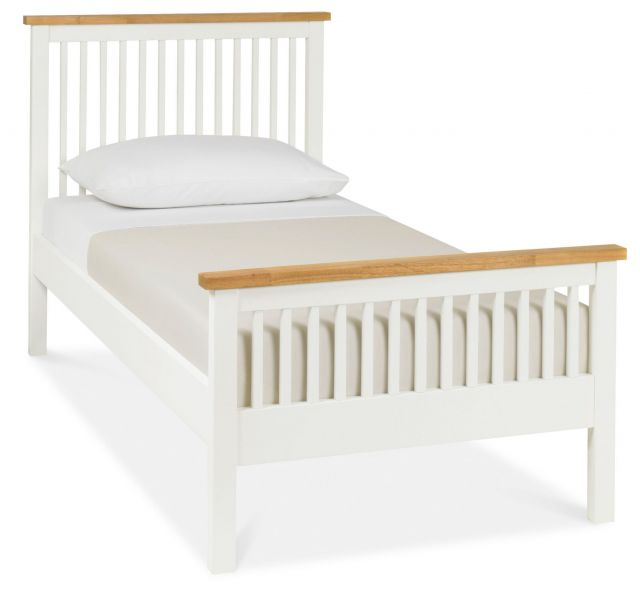 Chester Two Tone 90cm High Footend Bedstead