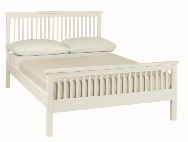Chester White 122cm High Footend Bedstead