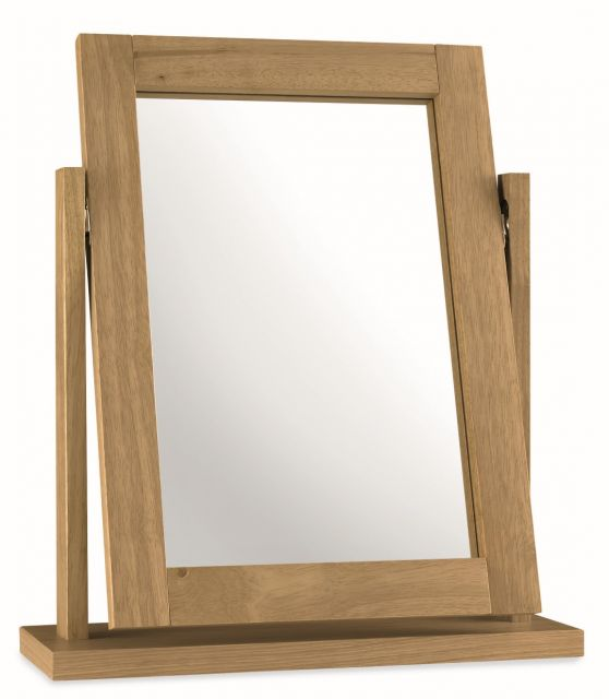 Chester Oak Vanity Mirror
