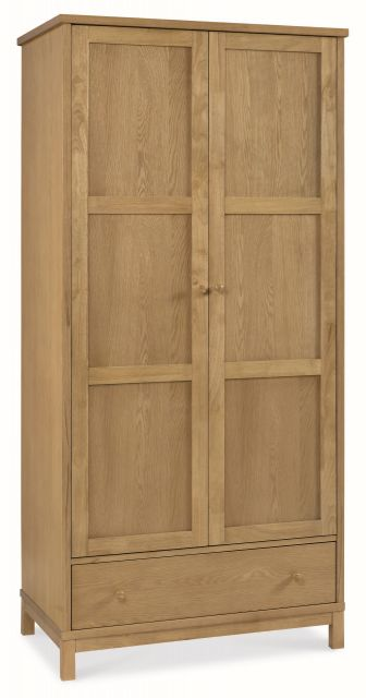 Chester Oak Double Wardrobe