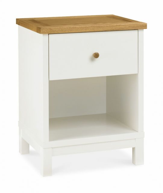 Chester Two Tone 1 Drawer Nightstand