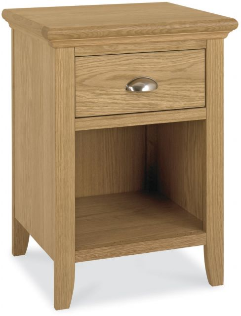Fairford Oak 1 Drawer Nightstand