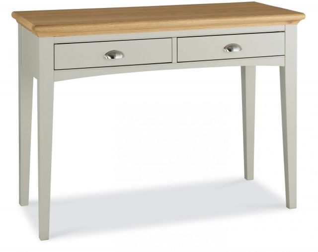 Fairford Soft Grey & Pale Oak Dressing Table