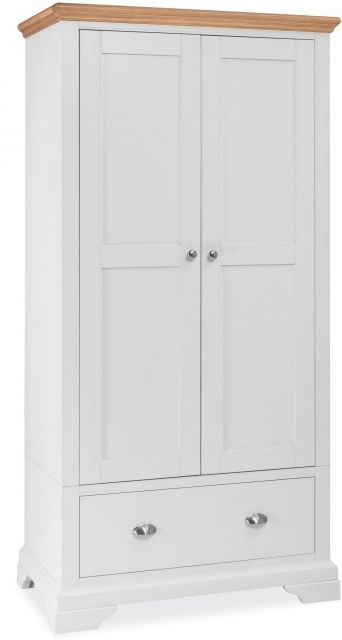 Fairford Two Tone Double Wardrobe